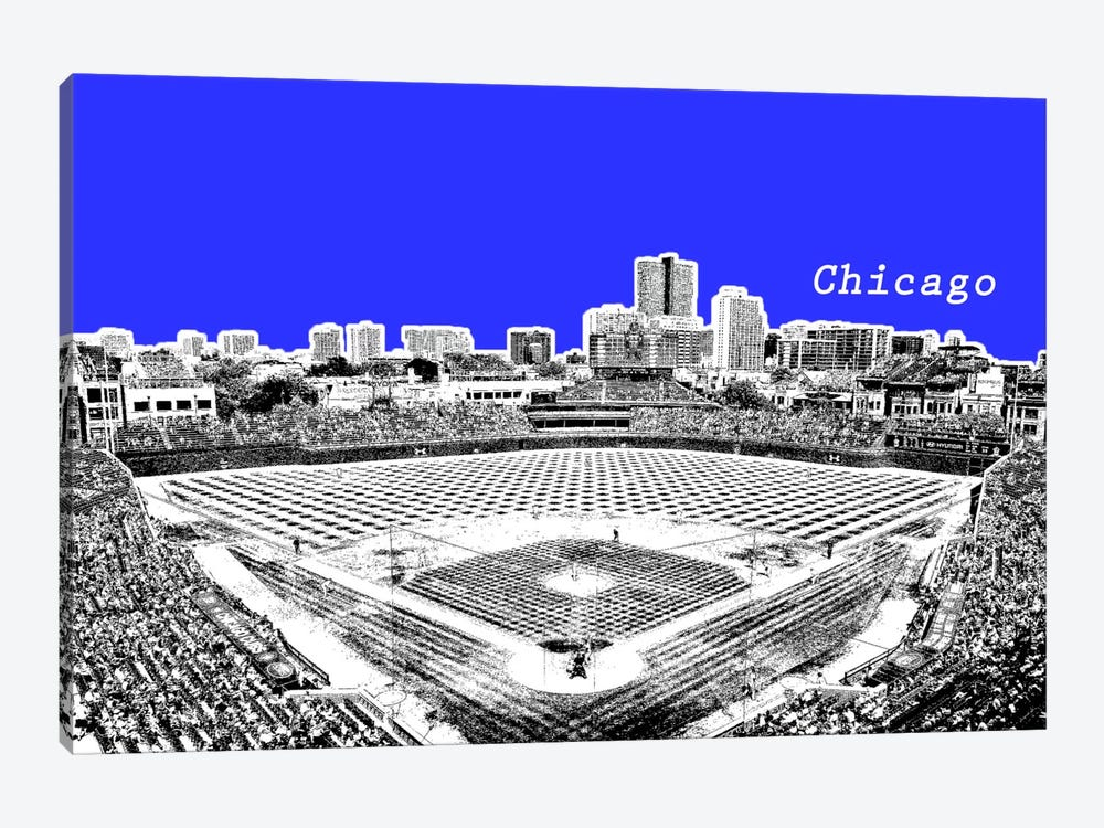 Chicago's Friendly Confines by Unknown Artist 1-piece Canvas Artwork