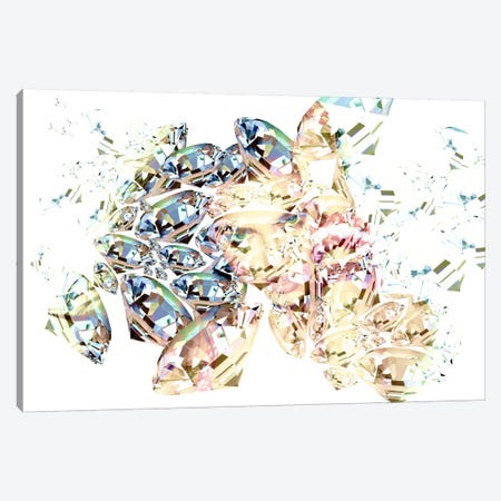 Diamond Girl Canvas Print #ICA277} by Unknown Artist Canvas Art