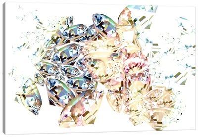 Diamond Girl Canvas Art Print