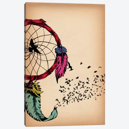 Dreamcatcher Canvas Print #ICA278} by Unknown Artist Canvas Art Print