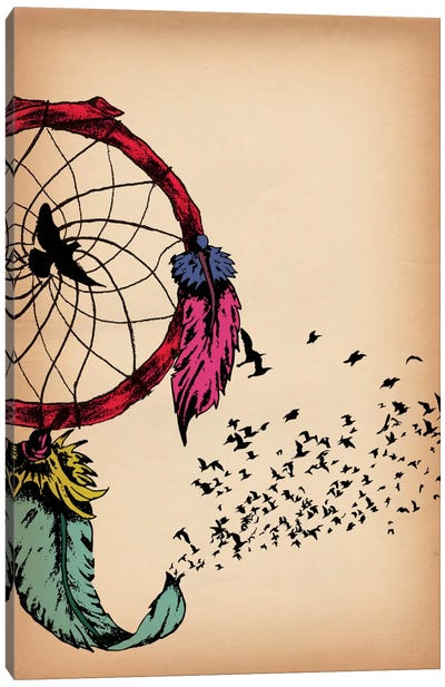 Dreamcatcher Canvas Print #ICA278