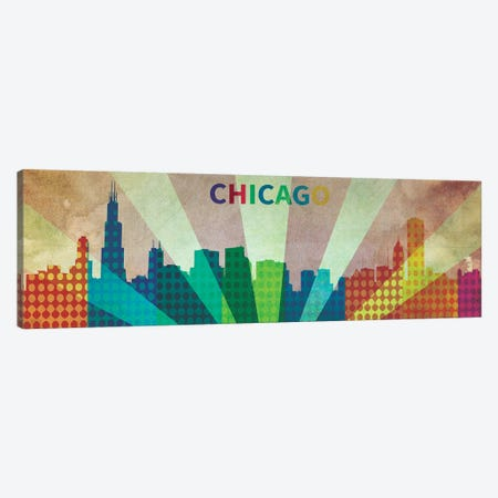 Chi City Canvas Print #ICA27} by Unknown Artist Canvas Artwork
