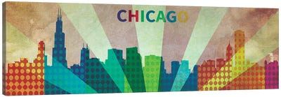 Chi City Canvas Art Print