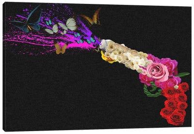 Rose Revolver Canvas Art Print