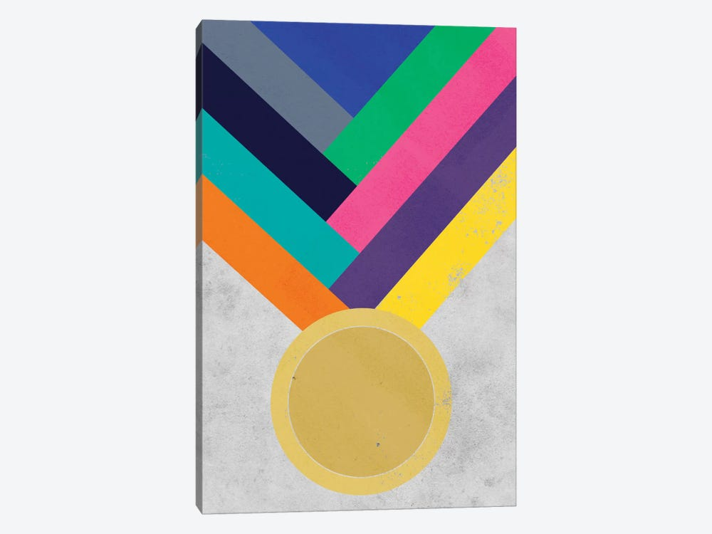 Gold Medal by iCanvas 1-piece Art Print