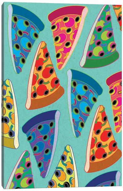 Supreme Slices Canvas Print #ICA299