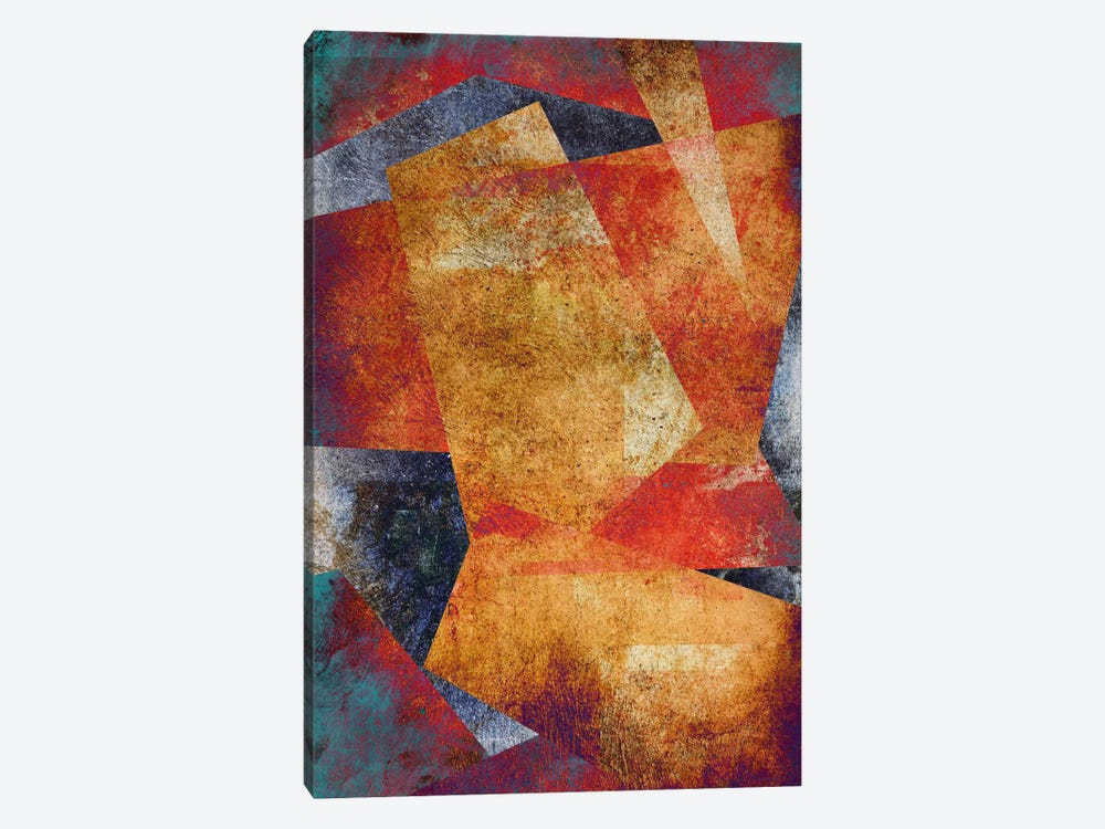 Jagged Edge 2 by Unknown Artist 1-piece Canvas Print