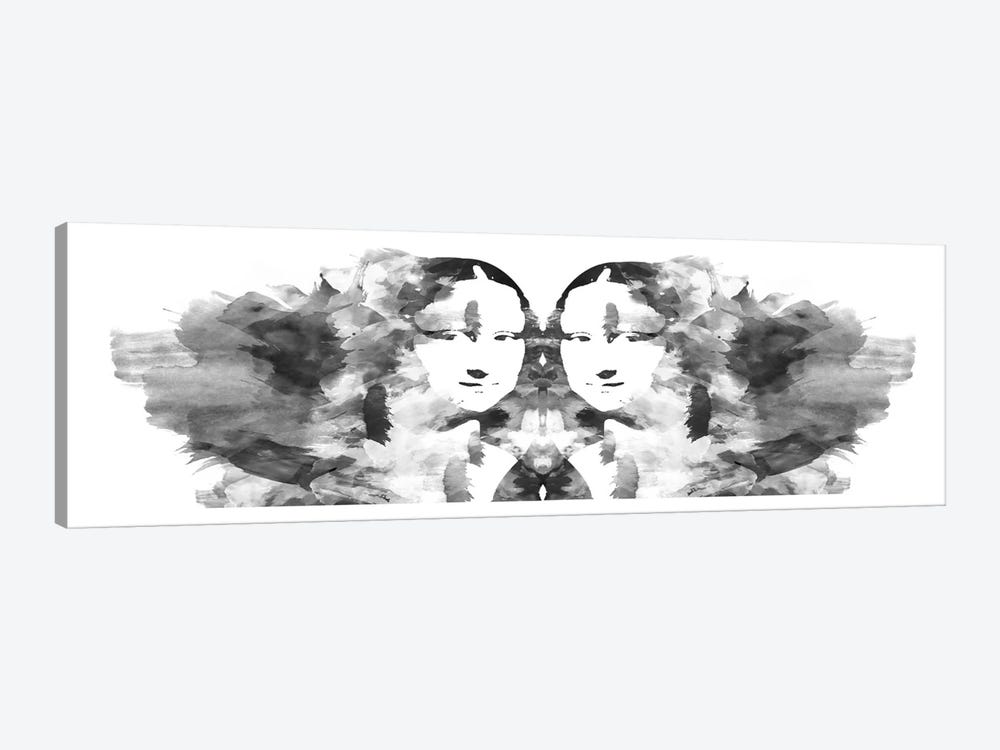 Rorschach Mona Lisa by Unknown Artist 1-piece Art Print