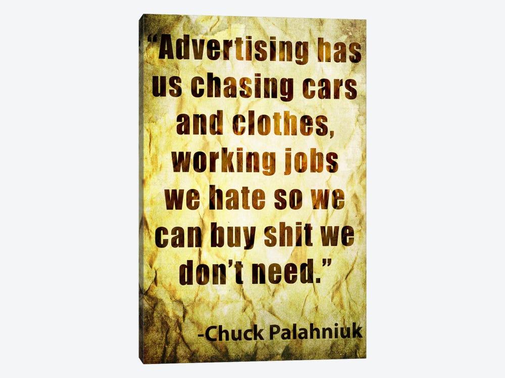 Chuck Says by Unknown Artist 1-piece Art Print