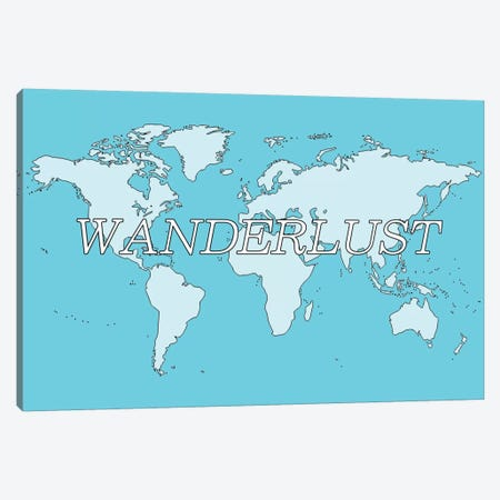 Wanderlust Canvas Print #ICA316} by Unknown Artist Canvas Print