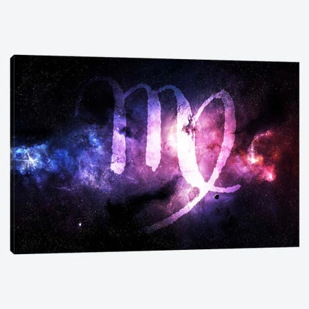 Virgo Zodiac Canvas Print #ICA321} by Unknown Artist Canvas Print