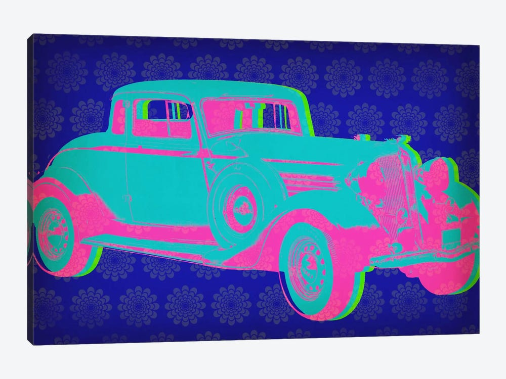 Vintage Car Pop Art by iCanvas 1-piece Canvas Art