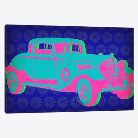 Vintage Car Pop Art Canvas Print #ICA328} by Unknown Artist Canvas Print