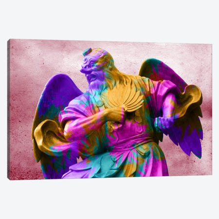 Technicolor Angel Canvas Print #ICA329} by Unknown Artist Canvas Art Print