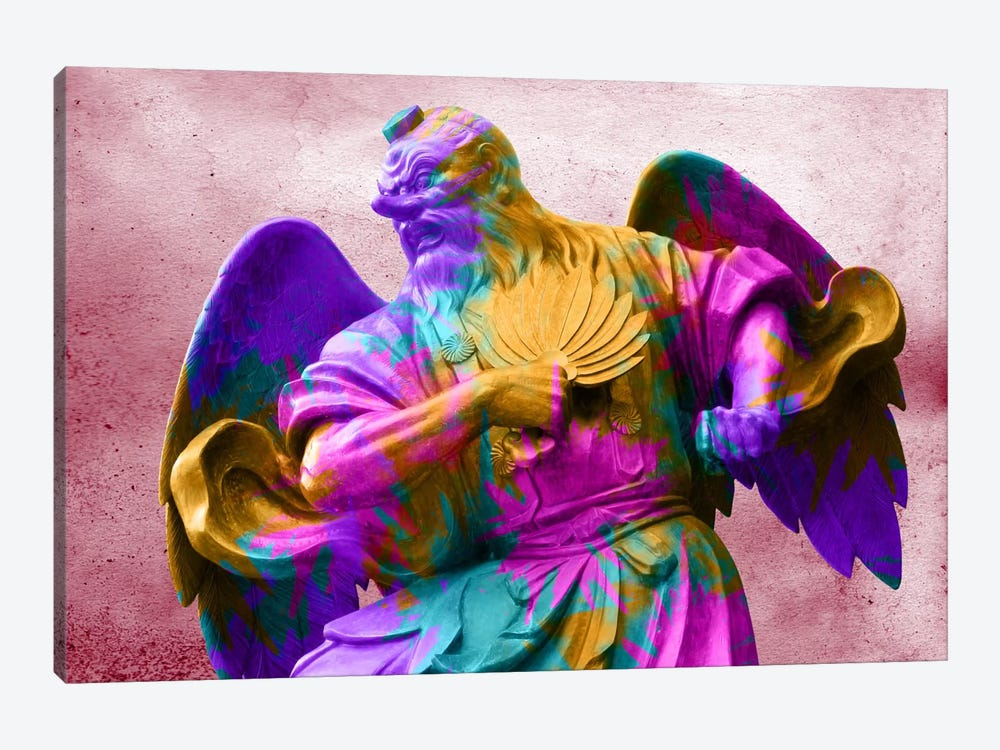 Technicolor Angel by Unknown Artist 1-piece Canvas Print