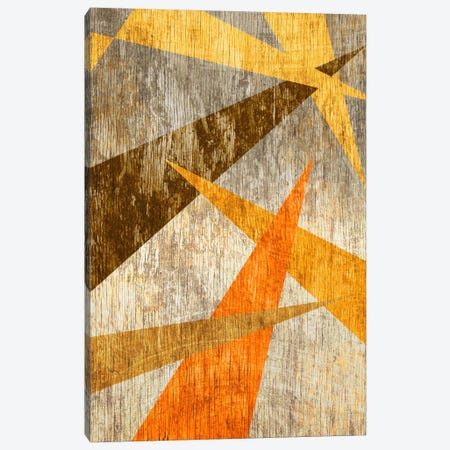 Woodgrain Prism Canvas Print #ICA338} by Unknown Artist Canvas Art