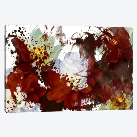 Stained Red Canvas Print #ICA353} by Unknown Artist Canvas Artwork