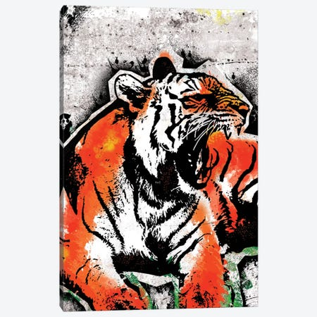 Jungle Beast Canvas Print #ICA35} by 5by5collective Canvas Print