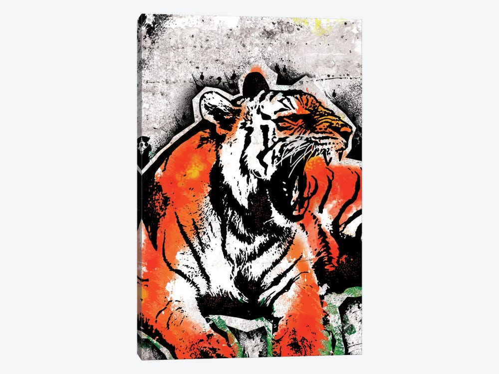 Jungle Beast by 5by5collective 1-piece Canvas Artwork