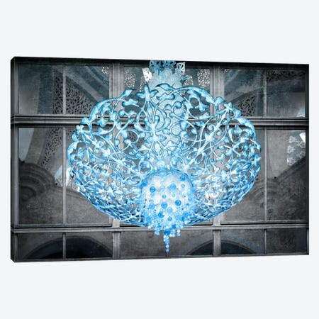 Ice Chandelier Canvas Print #ICA368} by Unknown Artist Canvas Print