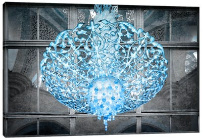 Ice Chandelier Canvas Art Print