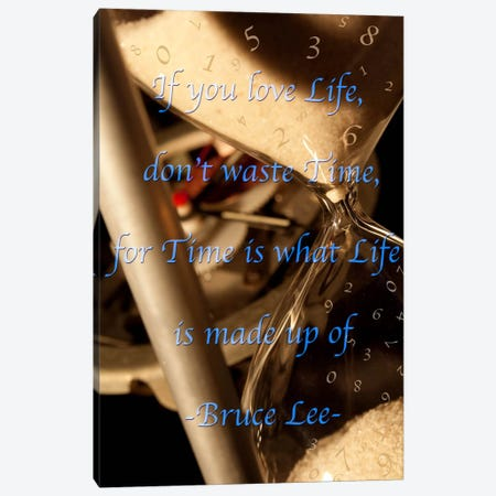 Time is Life Canvas Print #ICA381} by Unknown Artist Canvas Print