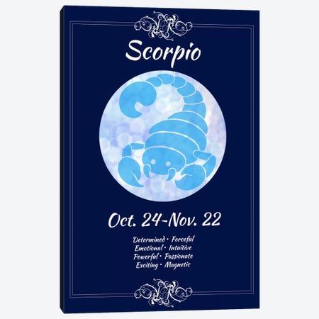 Scorpio Zodiac Canvas Print #ICA393} by Unknown Artist Canvas Artwork