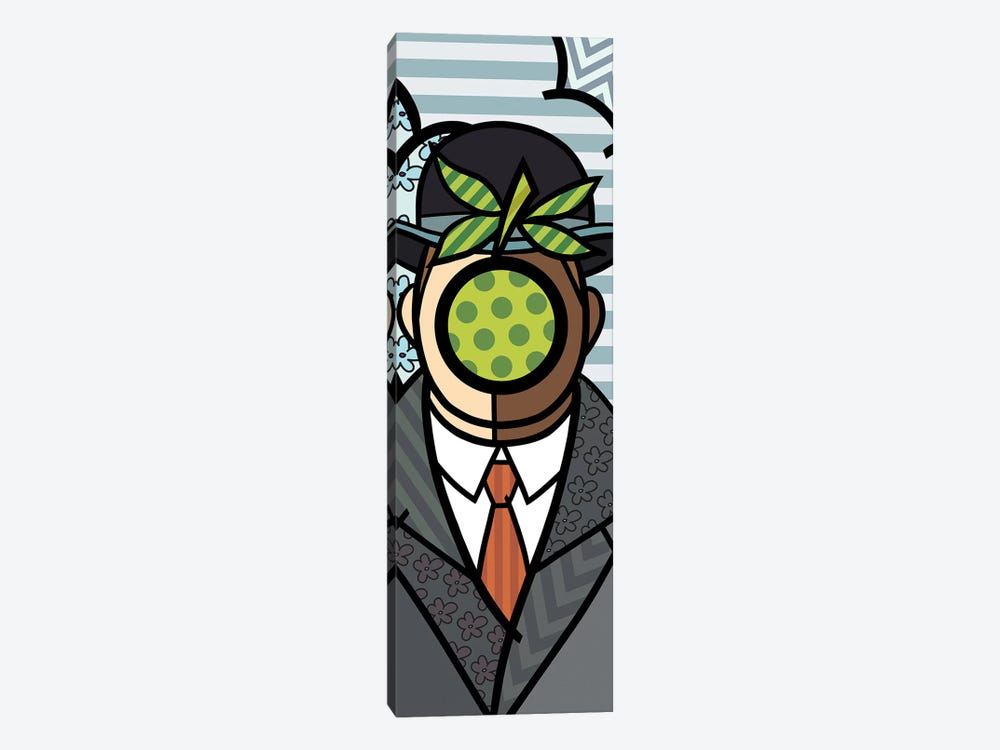 The Son of Man (After Rene Magritte) by 5by5collective 1-piece Canvas Wall Art