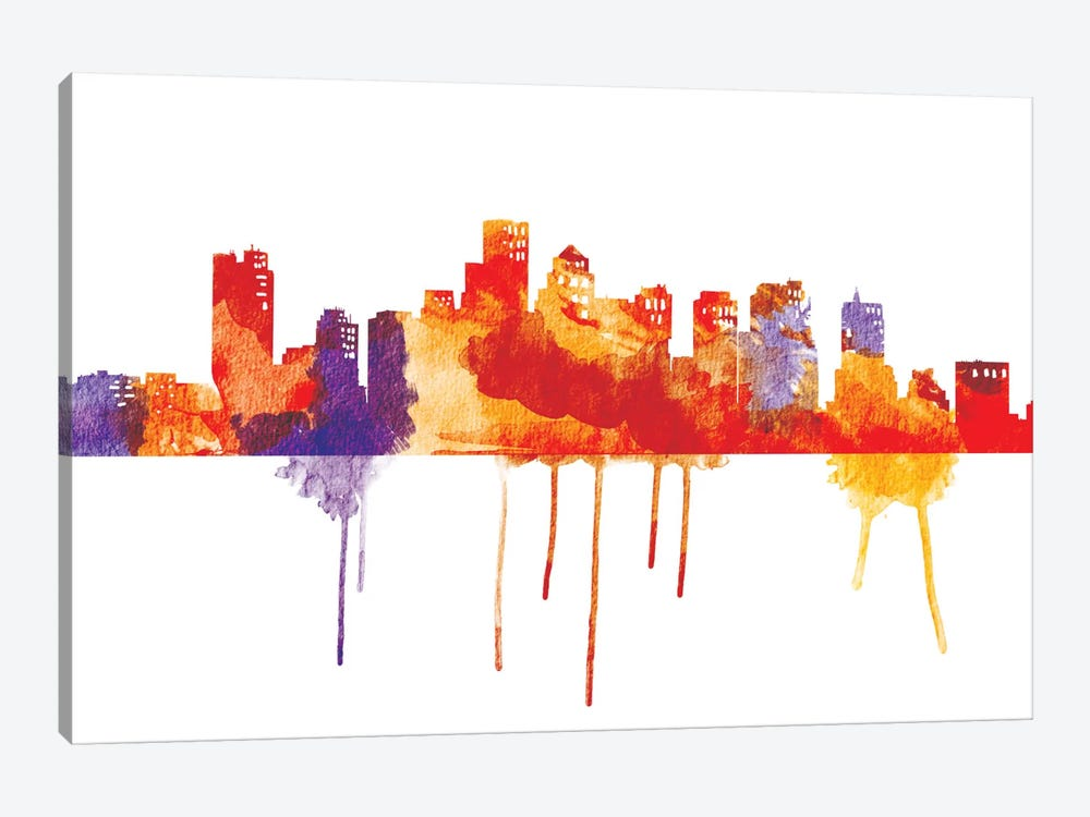 Sunset Cityscape by iCanvas 1-piece Canvas Art