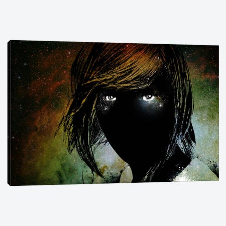 Dark Intentions Canvas Print #ICA3} by Unknown Artist Canvas Art Print