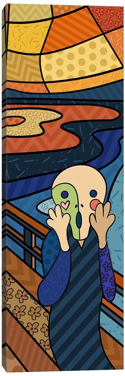 The Scream (After Edvard Munch) Canvas Art Print