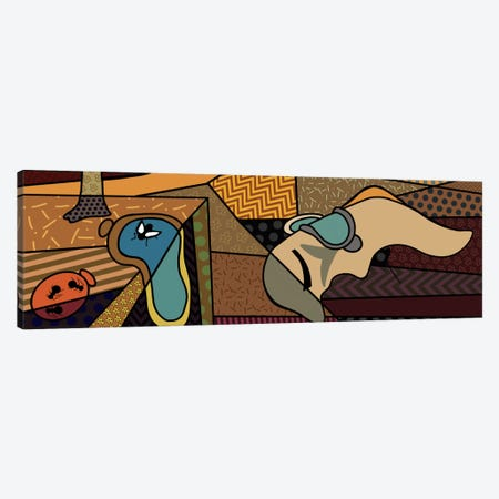 Persistence of Memory (After Salvador Dali) Canvas Print #ICA421} by 5by5collective Canvas Artwork