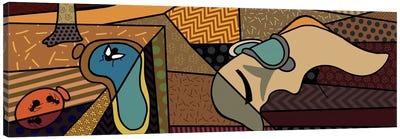 Persistence of Memory (After Salvador Dali) Canvas Art Print