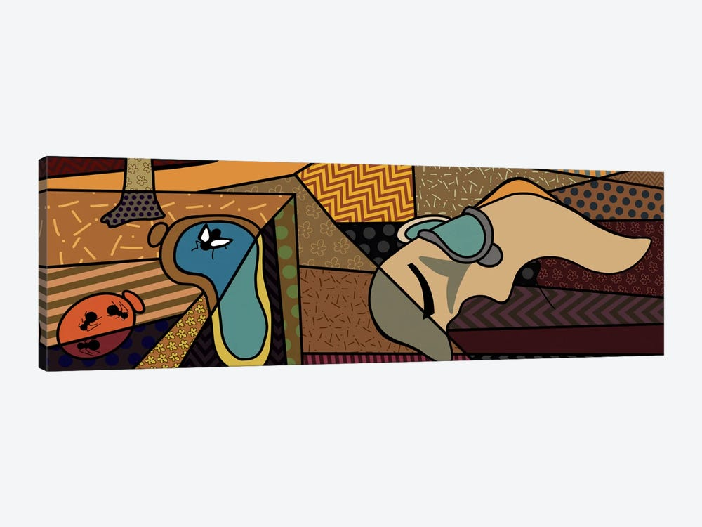 Persistence of Memory (After Salvador Dali) by 5by5collective 1-piece Canvas Wall Art