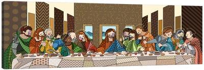 The Last Supper (After Leonardo Da Vinci) Canvas Print #ICA427