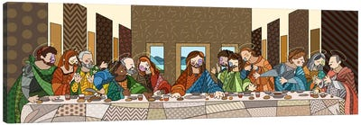 The Last Supper (After Leonardo Da Vinci) Canvas Art Print