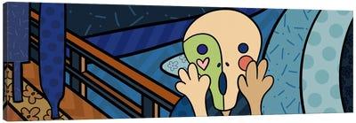 The Scream 2 (After Edvard Munch) Canvas Art Print