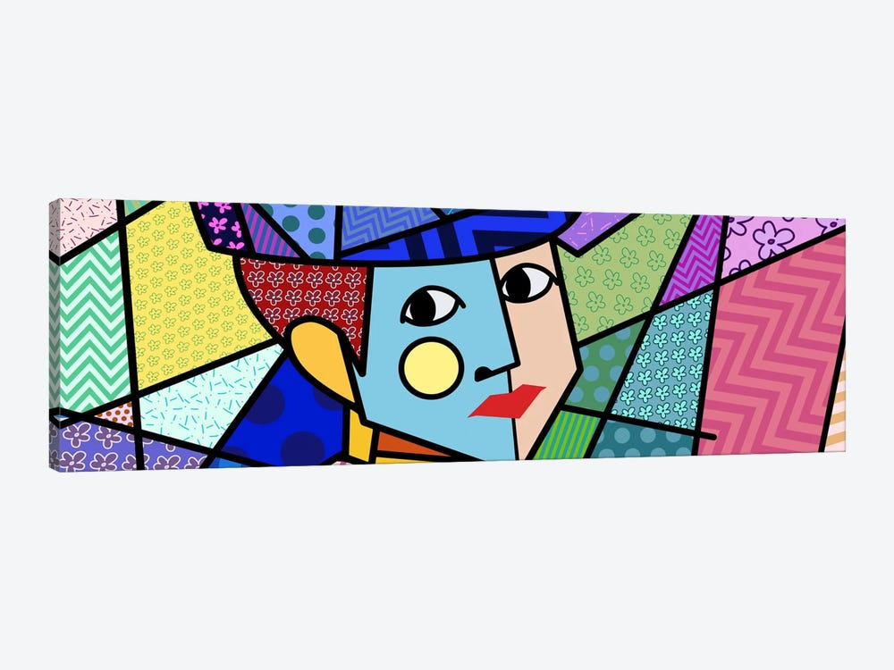 Woman With a Hat 2 (After Henri Matisse) by 5by5collective 1-piece Canvas Wall Art