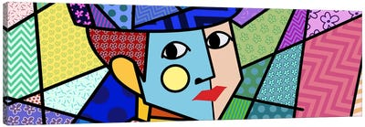 Woman With a Hat 2 (After Henri Matisse) Canvas Art Print