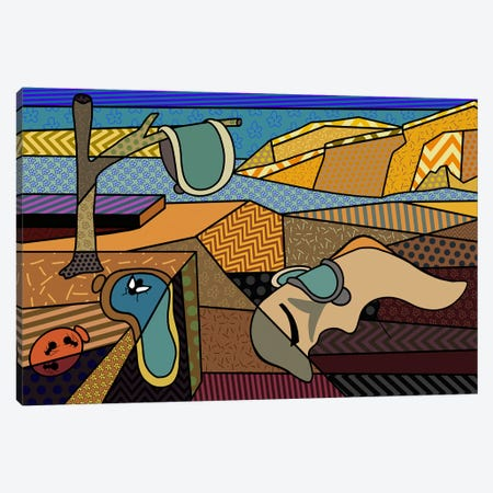 Persistence of Memory 2 (After Salvador Dali) Canvas Print #ICA441} by 5by5collective Canvas Wall Art