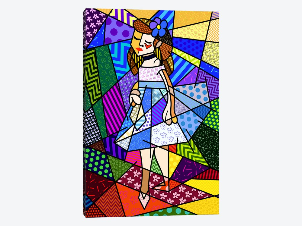 The Dancer 3 (After Pierre Auguste Renoir) by 5by5collective 1-piece Canvas Art Print