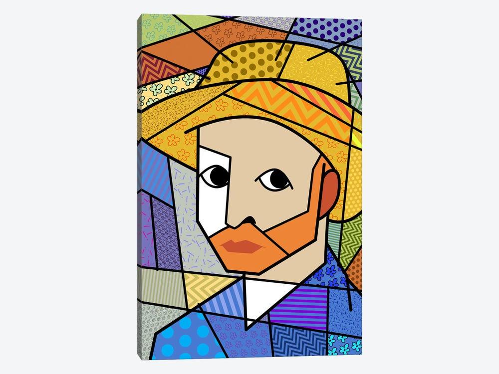 Self Portrait 3 (After Vincent Van Gogh) by 5by5collective 1-piece Art Print