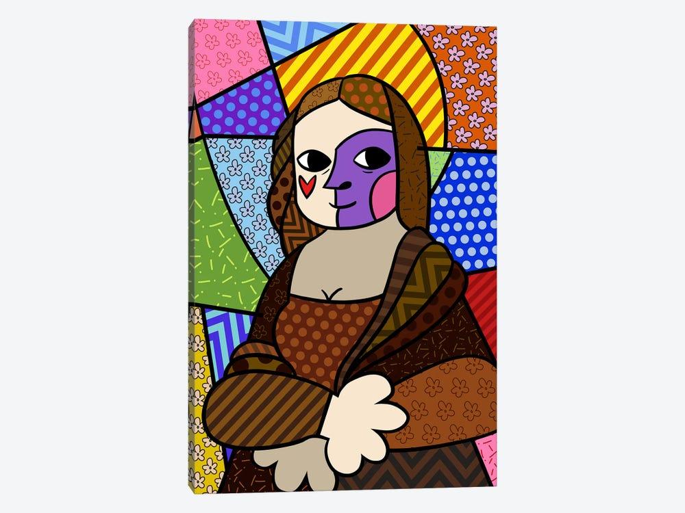 Mona Lisa 2 (After Leonardo Da Vinci) by 5by5collective 1-piece Canvas Artwork