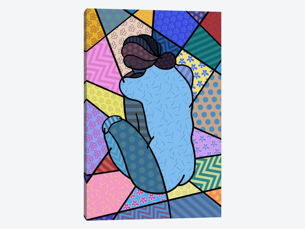 Blue Nude 2 (After Pablo Picasso) by 5by5collective 1-piece Canvas Wall Art