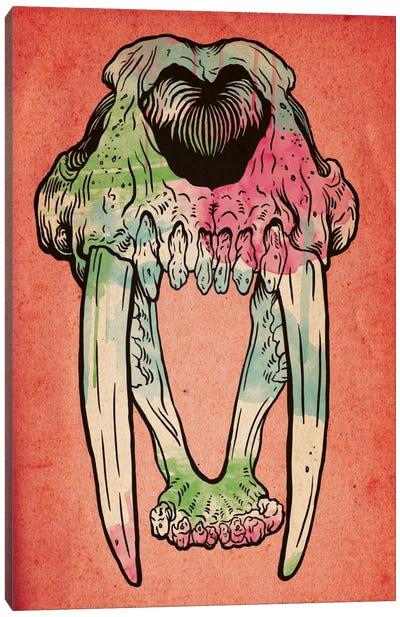 Prehistoric Watercolor Canvas Print #ICA45