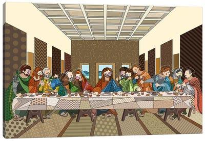 The Last Supper 2 (After Leonardo Da Vinci) Canvas Art Print