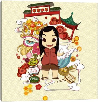 Chinatown Canvas Art Print