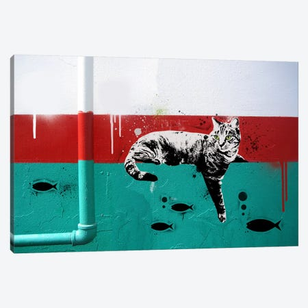 Gone Fishing Canvas Print #ICA471} by 5by5collective Canvas Print