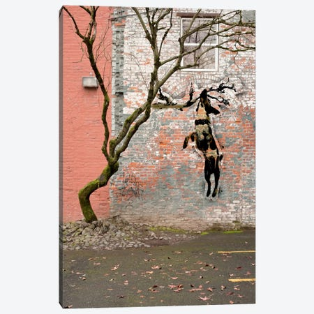 Just Hangning Around Canvas Print #ICA476} by 5by5collective Canvas Artwork
