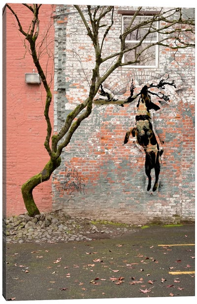 Just Hangning Around Canvas Art Print